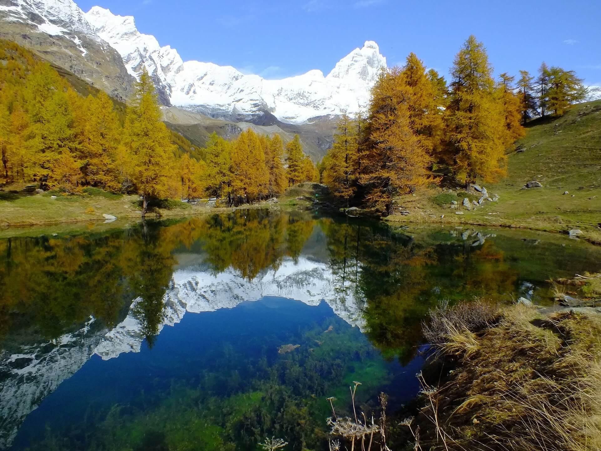 Regionen Italien Aostatal