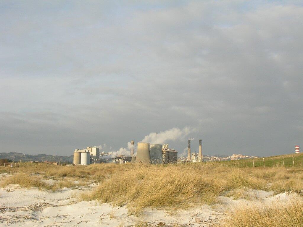 Sodafabrik in Rosignano Solvay